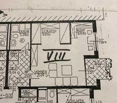 Gepflegte 1,5-Zimmer-Wohnung mit Balkon und EBK in Damme