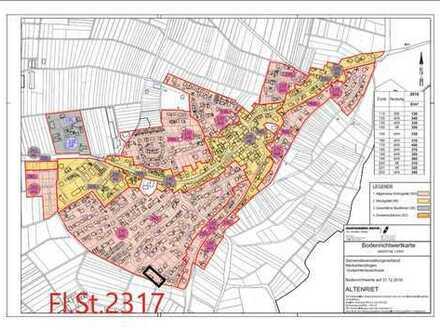Bauplatz / Baugrundstück für DHH in Altenriet 263m²