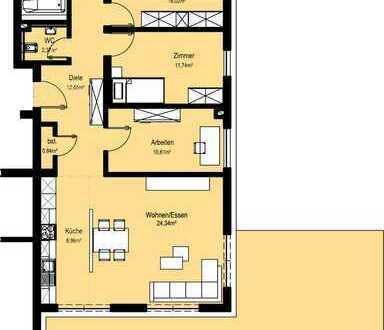 NEUBAU 4-Zimmer-Wohnung