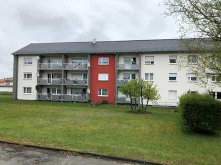 vermietete 2-Zimmerwohnung in Stetten am kalten Markt zu verkaufen.