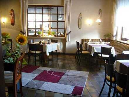 Voll ausgestatteter, charmanter Landgasthof mit Hotellerie inkl. 120qm-Wohnung zur Eigennutzung