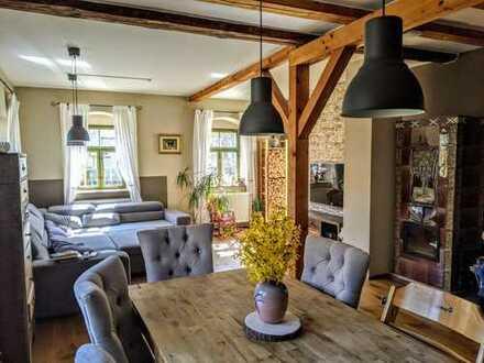 Romantisches denkmalgeschützes 4-Zimmer Einfamilienhaus mit EBK in Moritzburg
