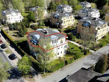 Traumhafte 2-Raum-Wohnung mit 2 Balkonen & Tiefgaragenstellplatz in Chemnitz Nähe Pelzmühlenteich