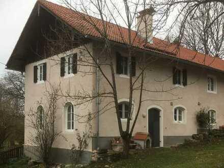 Schönes Bauernhaus südl. vom Starnberger See auf Zeit zu vermieten