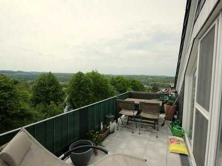 Maisonettewohnung mit Balkon & Baldeneyseeblick