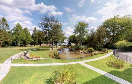 Exklusive Wohnung mit herrlichem Park- und Fördeblick