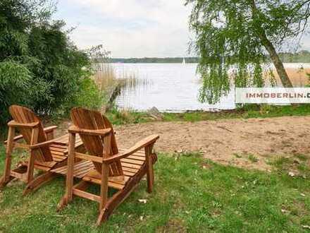 IMMOBERLIN: Traumlage direkt am Wasser! Anwesen mit großartigem Einfamilienhaus