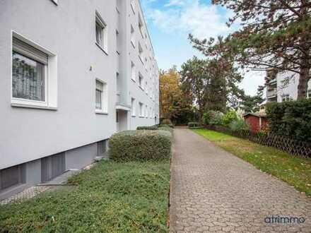 Solide Kapitalanlage in Düsseldorf-Lichtenbroich! 3-Zimmer-Wohnung plus Balkon. Gepflegtes MFH.