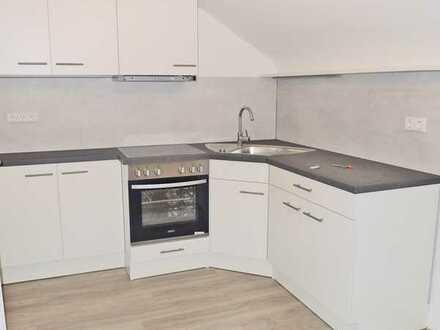 5769 - Gemütliche Dachgeschosswohnung mit Einbauküche in Durlach-Aue!