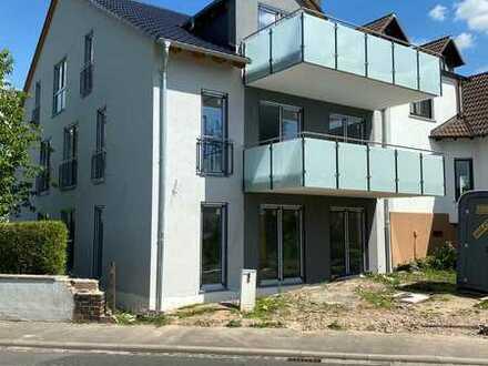 Erstbezug: freundliche 3-Zimmer-EG-Wohnung mit Terrasse in Alzenau