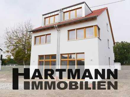 Haus statt Wohnung! Neubau Erstbezug: Doppelhaushälfte in guter Lage von Sossenheim!