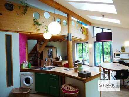 Wohnen und Arbeiten unter einem Dach - hier haben Sie alle Möglichkeiten!