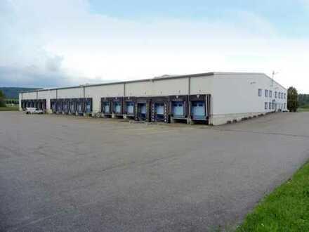 Logistik- und Verteilzentrum | 19 Überladebrücken, 10 ebenerdige Tore