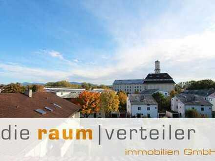 Über den Dächern von Rosenheim: Große 4-Zimmer-Wohnung mit Balkon in ruhiger Lage