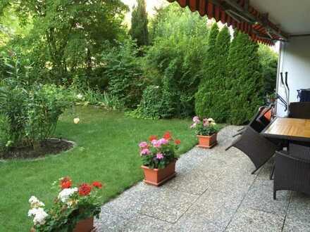 4ZKB im EG mit Terrasse u. Garten zu verkaufen - Frankenthal