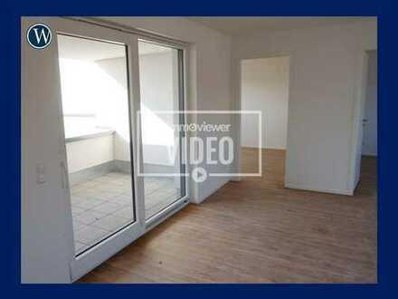 Penthouse-Flair im Neubau: 3 Zimmer mit Dachterrasse, Einbauküche, perfekter Schnitt, Aufzug