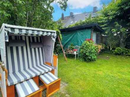 Renovierte 3 Zimmer, Küche, Bad - Eigentumswohnung mit 2 Bädern sowie Garten, nähe Strecktalpark