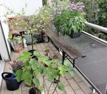 Helle 2 ZKB-Wohnung mit 2 Balkonen in der Mannheimer Oststadt