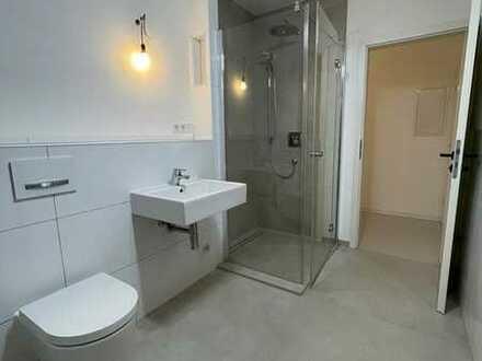 Moderne, helle 3-Zimmer-Wohnung mit großer Dachterrasse und Blick auf den Neckar