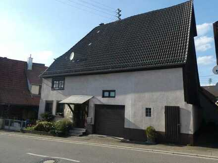 Bauernhaus mit Scheune in Epfenbach
