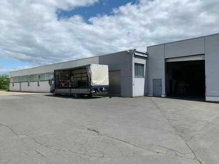 Produktions- oder Lagerhalle provisionsfrei zu vermieten *Top Zustand & Lage*