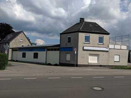 KFZ-Werstatt mit Büro/Wohntrakt und Ausstellungsplatz