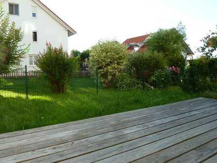 familienfreundliche 4 Zi-Whg mit Garten und TG in Kempten