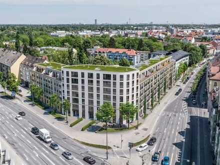 Inmitten des erfrischenden, beliebten Münchner Stadtteils Pasing: Modernes Cityapartment mit Loggia
