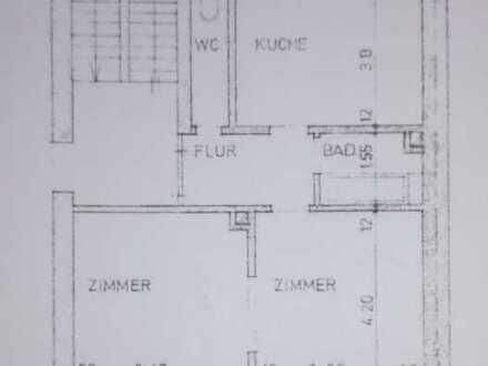 Gemütliche 2-Zi.-Altbauwohnung, zentral, dennoch ruhig gelegen in Pfhm-Nordstadt