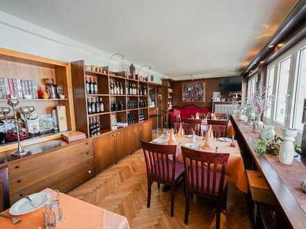 Provisionsfrei - Renommiertes Restaurant mit Pächterwohnung + 2 kernsanierte Wohnungen