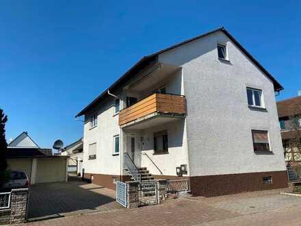 Sonnige Wohnung mit Gartenanteil und Balkon