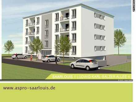 Wir bauen für Sie! Astrapark Saarlouis! Wohnobjekt mit 20 WE über 4 Etagen! 2 ZKB!