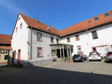 Sehr große 5-Zimmer-Wohnung im historischen Anwesen an der deutschen Weinstraße