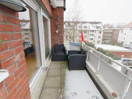 Maisonette-Wohnung mit offener Galerie direkt an der Münsterschen Aa!!!