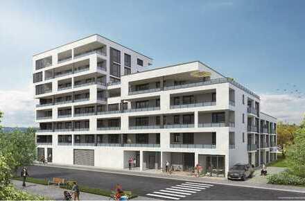 Wohnen am Neckar / Erstbezug einer exklusiven 2-Zimmer Wohnung mit Balkon & Dachterrasse