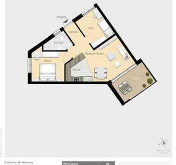 Gemütliche 3,5-Zimmer Wohnung W08