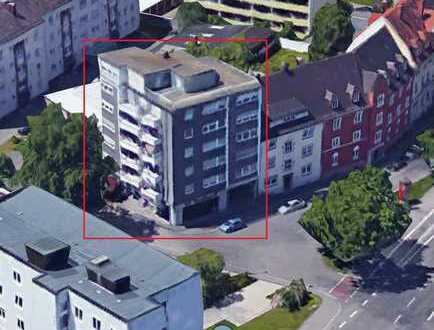 Schöne 2-Zimmer-Wohnung in guter Lage in Neu-Ulm ab 15.01.2019 zu vermieten