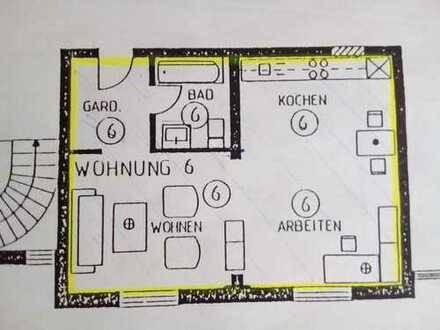 Geräumige 1-Zimmer-Wohnung in Burgebrach