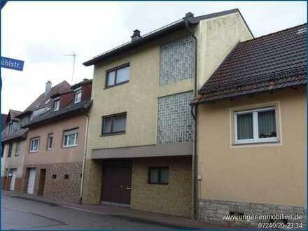 Einfamilienhaus RMH mit Innenhof in zentraler Wohnlage von Pfinztal-Berghausen! ***provisionsfrei***