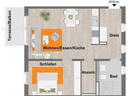 WBS erforderlich! Gut aufgeteilte zwei Zimmerwohnung in Wassenberg