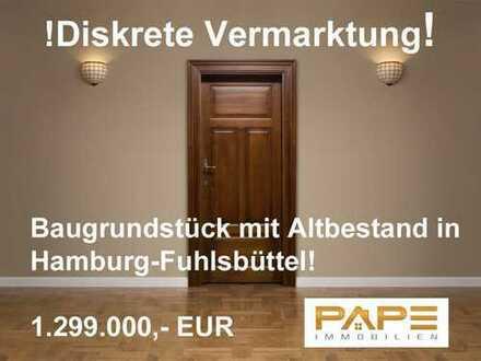 Baugrundstück für ein MFH und ein Doppelhaus in Hamburg-Fuhlsbüttel!