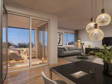 2-Zimmer-Apartment mit Duschbad und Loggia