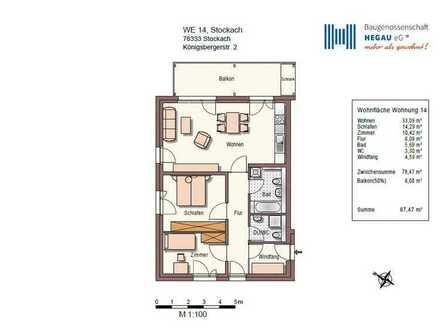 3-Zimmer-Neubau-Wohnung in Stockach