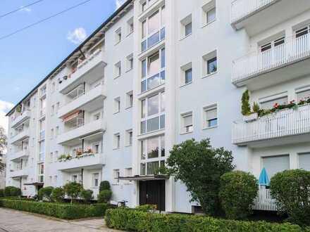 Renditeobjekt mit Potenzial: Vermietete 2-Zi.-Whg. mit Balkon in zentrumsnaher Lage