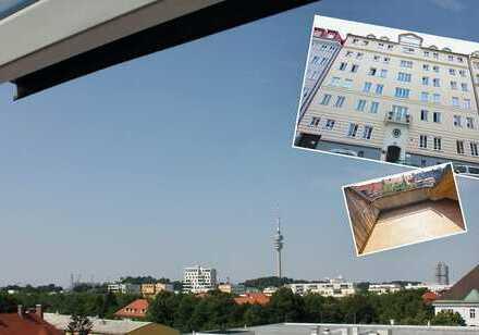 EIN ECHTES SCHMUCKSTÜCK! Hinreißende Dachterrassenwohnung mit spektakulärem Ausblick in Bestlage!