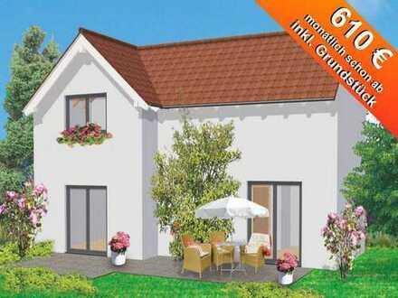 Gefördertes Einfamilienhaus mit Keller und Grundstück ab 211.793€
