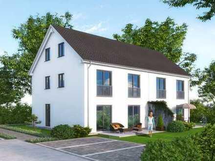 Stilvolle Neubau-Doppelhaushälfte mit Garten in Volkmannsdorferau bei Moosburg!