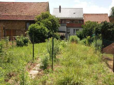 Am Wiesbach: Hofreite m. teils urspr. Dielenböden/Türen, mit Garten, Hof, kl. Scheune, Nebengeb.