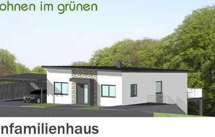 Modernes Einfamilienhaus mit Ihren Gestaltungsmöglichkeiten in der Bauphase