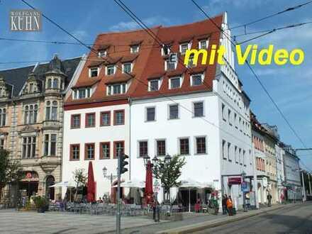 exclusive Büroräume in einem der ältesten Gebäude Zwickaus, in repräsentativer Lage am Hauptmarkt